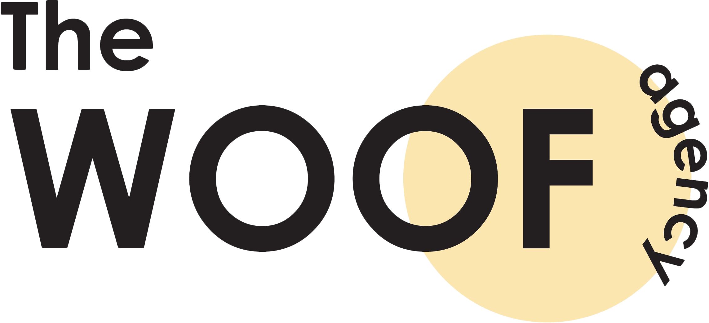 The Woof Agency logo